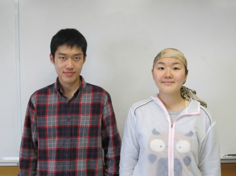 Ray L. and Ashley Y. achieved perfect scores on the June 2014 Science 10 Provincial Exam!